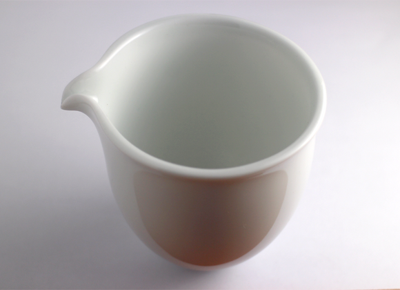 Handmade White Fairness Cup 手拉茶海 (白)