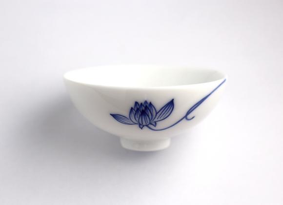 Hand-Painted Lotus (Outside) 手繪蓮花杯(外緣)