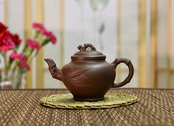 Bamboo Yixing Zisha Teapot 竹節壺