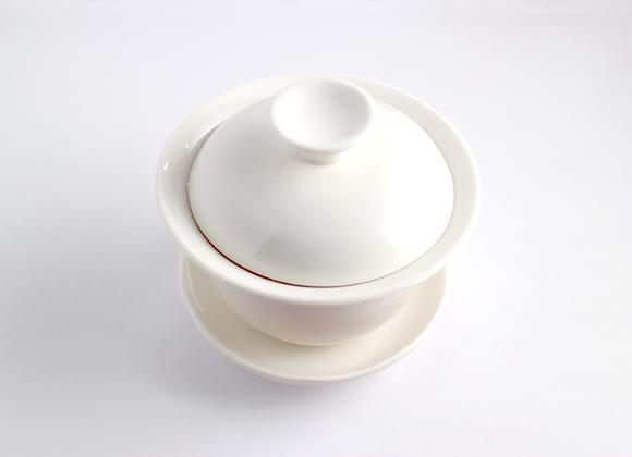 Small Ivory-White Gaiwan  小蓋杯(乳白)