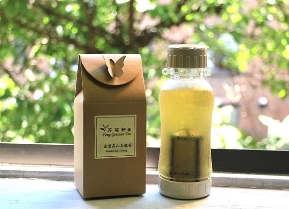 Golden Lily Oolong Cold Brew Tea Set 金萱烏龍冷泡茶組