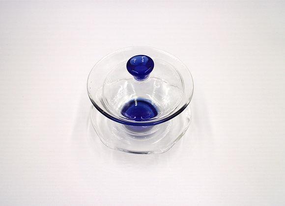 Glass Gaiwan  玻璃蓋杯(藍)