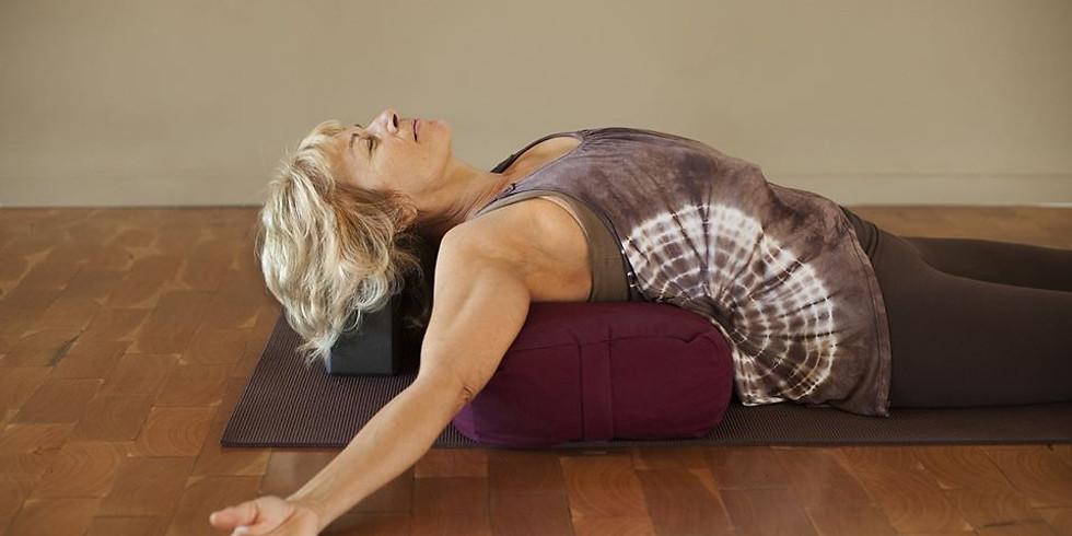 Restorative Yoga for Cancer Recovery with Celeste Crockett