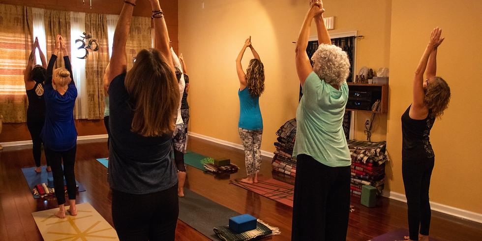 3-Week Beginner Yoga Series with Bakula (Zoom)