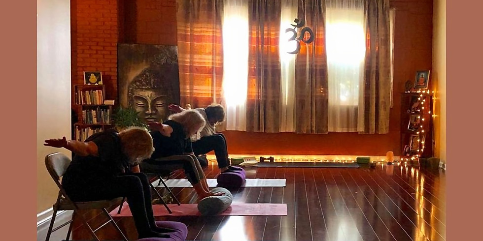 4-Part Chair Yoga Class Series with Rosemary Michael