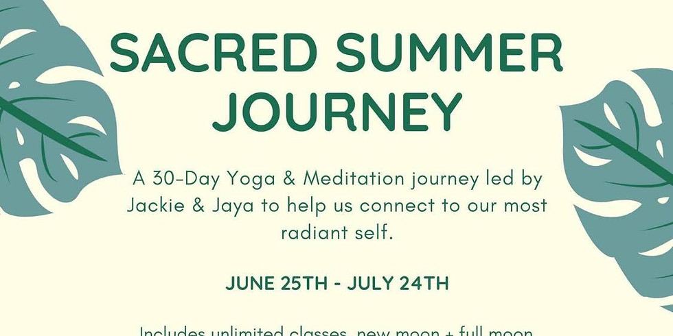 30-Day Sacred Summer Journey with Jackie