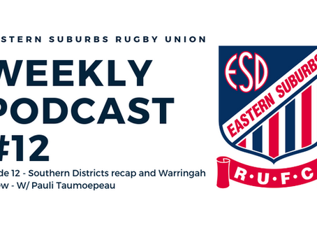 Easts Weekly Podcast #12