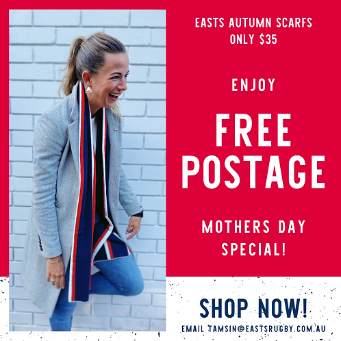Easts Supporters Scarf