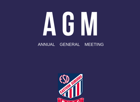 Easts AGM 2018