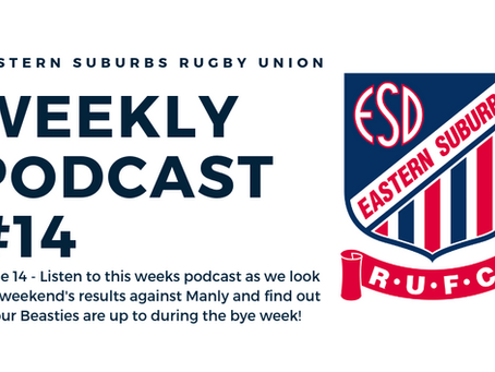 Easts Weekly Podcast #14