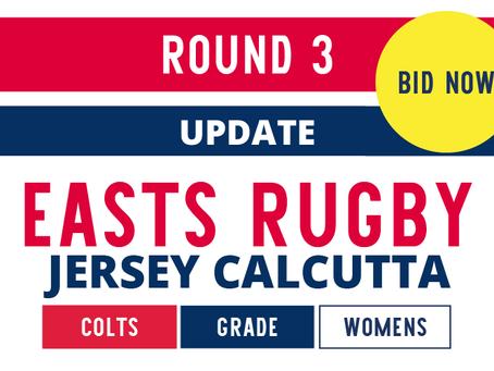 Jersey Calcutta ROUND 3 UPDATE
