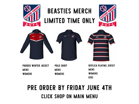 Last Chance for New Beasties Merch