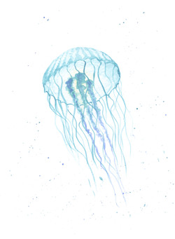 Watercolour jelly doodle 1