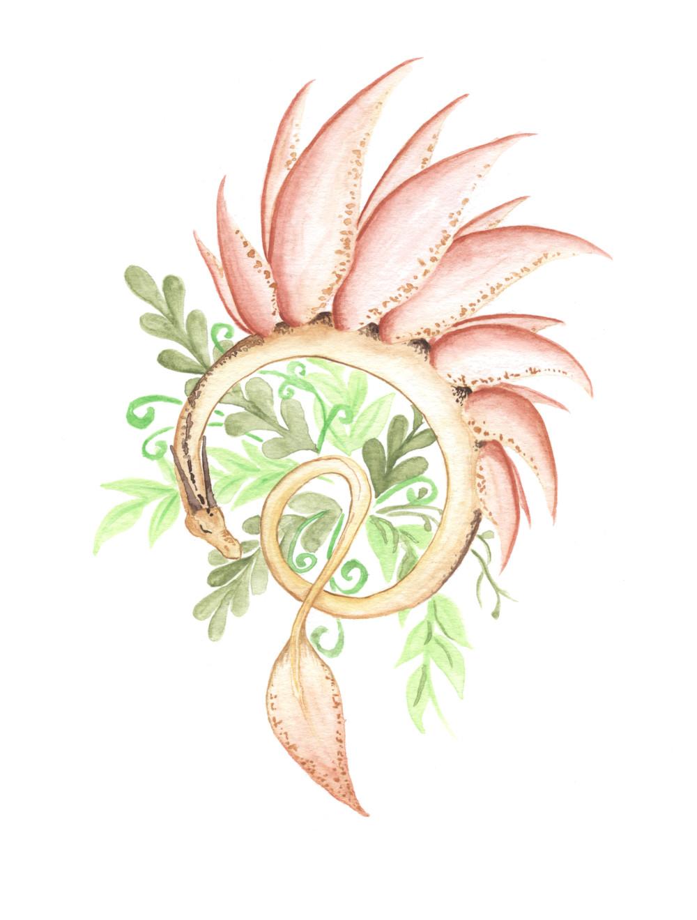 Watercolour doodle 2