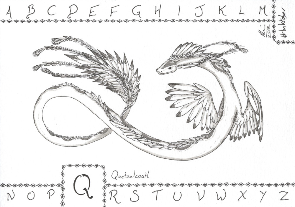 Q is for Quetzalcoatl