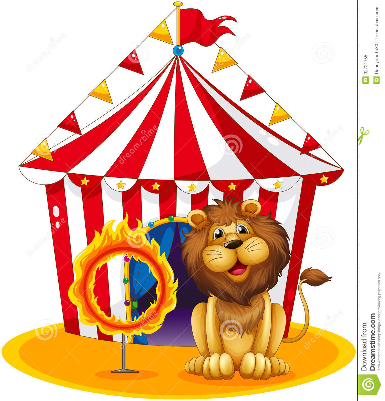 lion-fire-hoop-circus-illustration-white-background-32731755.jpg