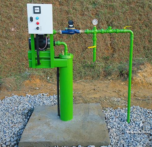 Modelo de instalação de poços - Padrão In.E.A.