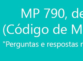 ORIENTAÇÕES SOBRE A MEDIDA PROVISÓRIA Nº 790/2017