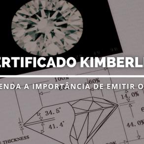 Certificado Kimberley: o que é e como emiti-lo