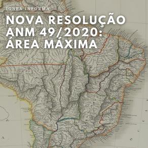 Nova resolução da ANM altera área máxima para outorga nos regimes de aproveitamento mineral