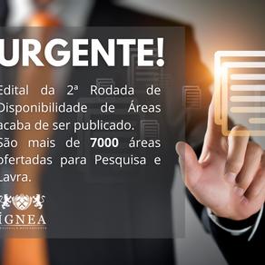 ANM lança Edital 02/2020 de Disponibilidade de Áreas