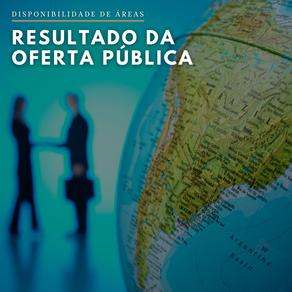 ANM divulga resultado de Oferta Pública Prévia em processo de Disponibilidade de Áreas