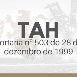 TAH - Os prazos de acordo com a Portaria nº 503 de 28 de dezembro de 1999