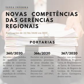 Conheça as novas competências das Gerências Regionais da ANM