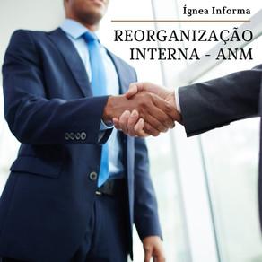 Alterações de Regimento Interno e Cargos Comissionados da ANM