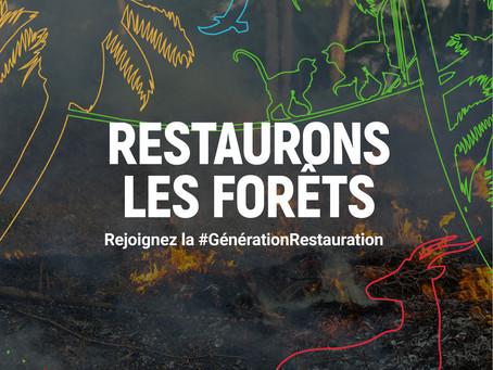 #GenerationRestoration : Humanity For The World (HFTW) porte son soutien à l'#UNEP et à la #FAO