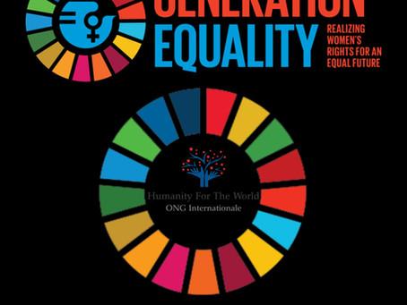 Humanity For The World(HFTW) accrédité pour l'audience Multi-parties prenantes BEIJING+25 - ONU 2020