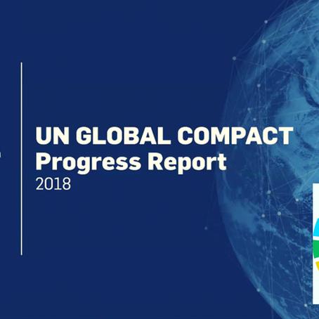 Bilan 2018 - Implication des entreprises -Développement durable - Pacte mondiale des Nations Unies