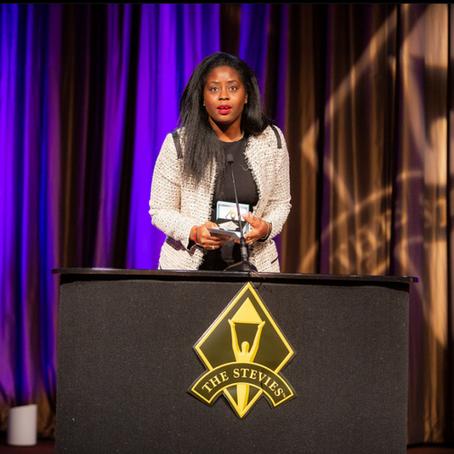 Un Stevie® Award D'argent pour la Présidente de Humanity For The World (HFTW)- New-York - Nov 2018