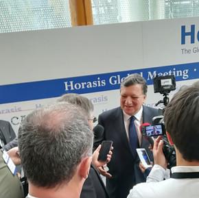 Le Dr.h.c Audrey POMIER FLOBINUS porte sa vision global meeting HORASIS 2019
