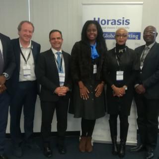 le Dr.h.c Audrey POMIER FLOBINUS porte sa vision global meeting HORASIS 2019 - Réunion Monsialisation et Union Africaine