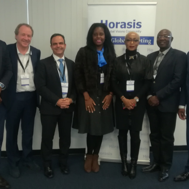 le Dr.h.c Audrey POMIER FLOBINUS porte sa vision global meeting HORASIS 2019 - Réunion Monsialisation et Union Africaine