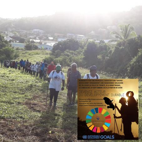 Randonnée solidaire en faveur du développement durable - Acte 1 - 2019
