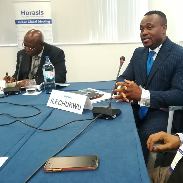 Global meeting HORASIS 2019 - Réunion Monsialisation et Union Africaine