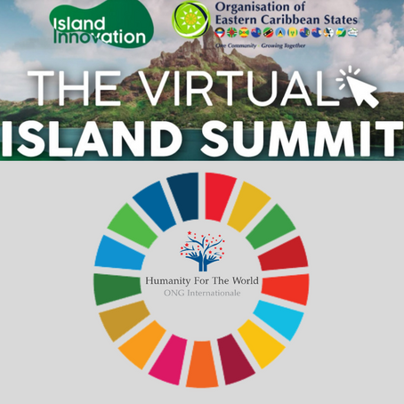 Humanity For The World (HFTW) participe au 1er Sommet de l'île virtuelle - OECS - 6-11 Octobre 2019