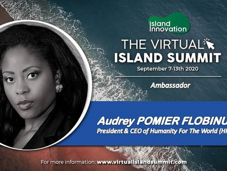 Humanity For The World (HFTW) au Virtual Island Summit 2020