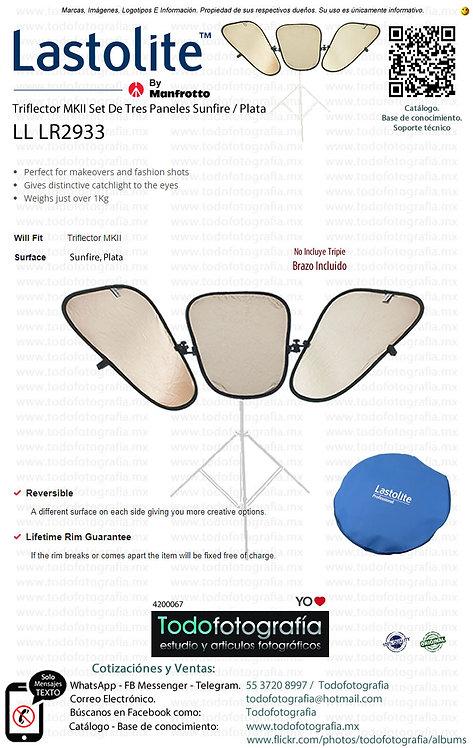 Lastolite LL LR2933 Triflector MKII Set De Tres Sunfire Plata y Barzo (4200067)