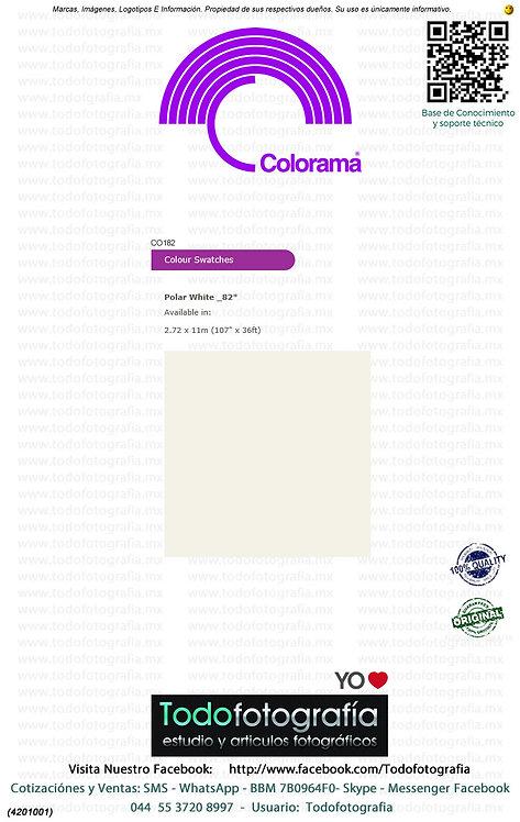 Colorama CO182 Blanco Polar 2.72 x 11m (4201001)