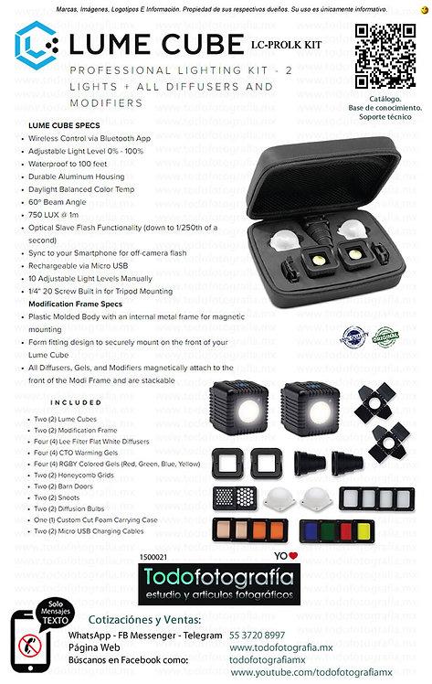 Lume Cube LC-PROLK KIT - Kit Profesional De Iluminacion (1500021)