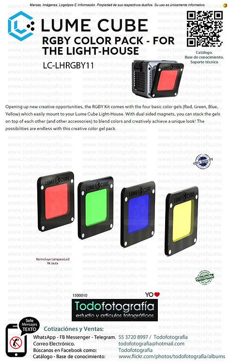 Lume Cube LC LHRGBY11 Kit De Filtros RGBY (1500010)