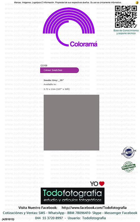Colorama CO139 Gris Humo 2.72 x 11m (4201013)