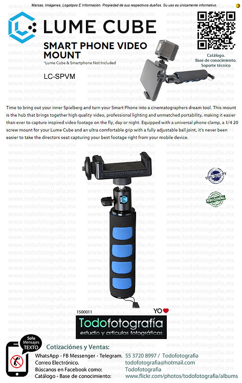 Lume Cube LC SPVM Clip y Manija Para Smartphone (1500011)