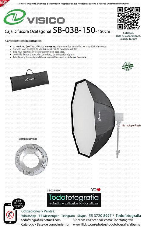 Visico SB 038 150 Caja Difusora Octagonal Softbox 150 cm (SB-038-150)
