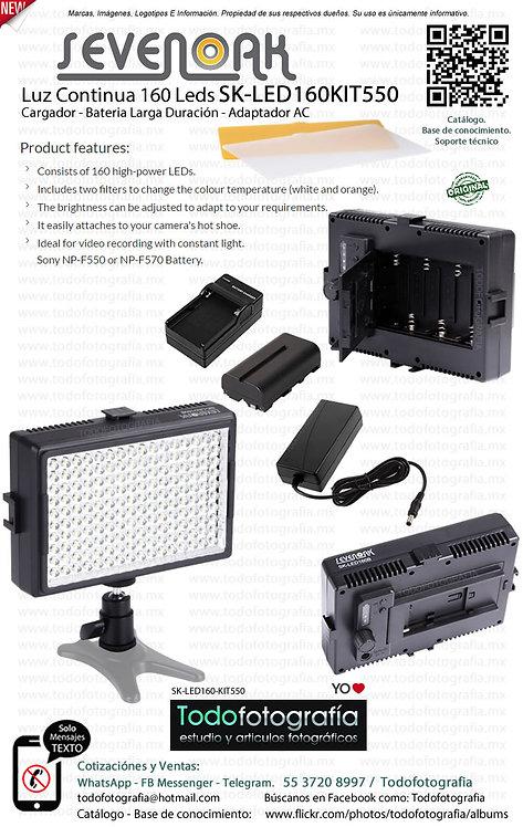 Sevenoak SK LED160KIT550 (SK-LED160-KIT550)