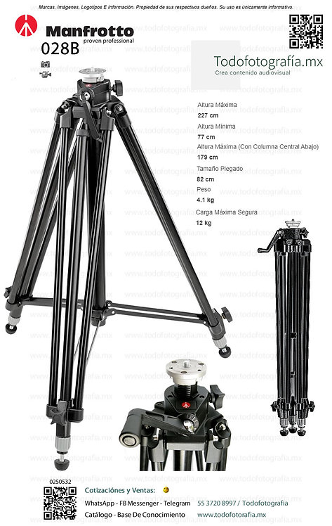 028B Manfrotto Tripie (0250532)
