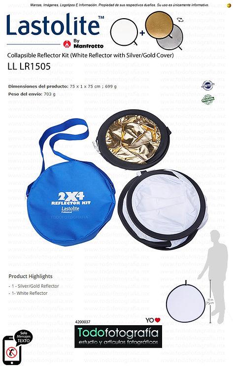 Lastolite LL LR1505 Reflector Blanco Colapsable c/Funda Palata-Dorada (4200037)